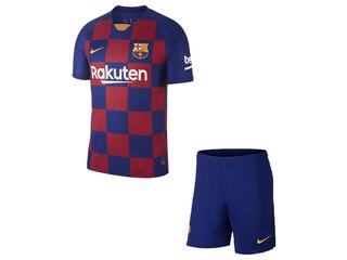 Conjunto Infantil Do Barcelona 2019/20 Oficial - Ofertão