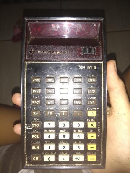 Calculadora Texas Instruments Sr-51-ii