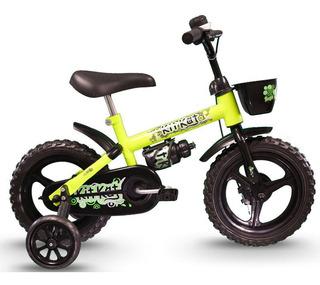Bicicleta Track Kit Kat Infantil Aro 12 Seminova