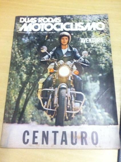 Duas Rodas Maio 1977 Edição Rara Número 24