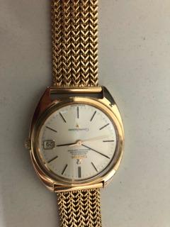 Relógio Omega Constellation Todo Em Ouro Antigo