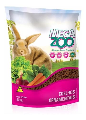 Alimento Super Premium Mega Zoo Mix Conejos 500g