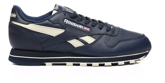 Zapatillas Reebok Moda Classic Leather Mu Hombre Mn/be