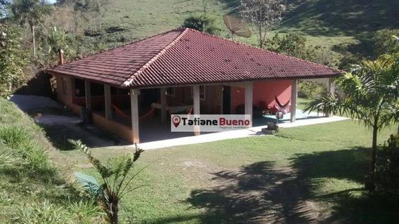 Chácara Residencial Para Venda E Locação, Morro Azul, Paraibuna. - Ch0031