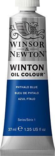 Winton Pintura Al Oleo 37ml Tubo Phthalo Azul