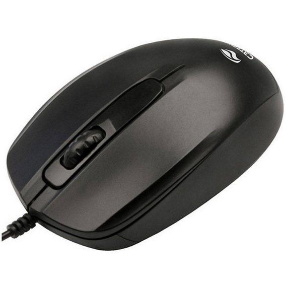 Mouse Optico Usb C3 Tech Ms-30bk Usb 3b 1000 Dpi