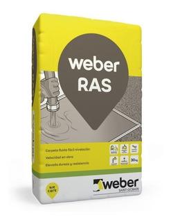 Weber Floor Ras 30kg Carpeta Autonivelante