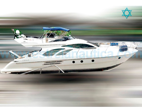 Lancha Intermarine 520 Full Barco Iate N Phantom Cimitarra