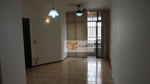 Apartamento Com 2 Dormitórios À Venda, 75 M² Por R$ 440.000,00 - Bosque - Campinas/sp - Ap5336