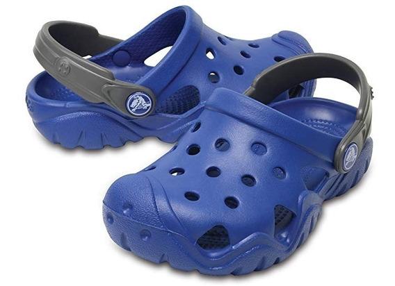 Crocs Original Swiftwater Clog K Azul Kids