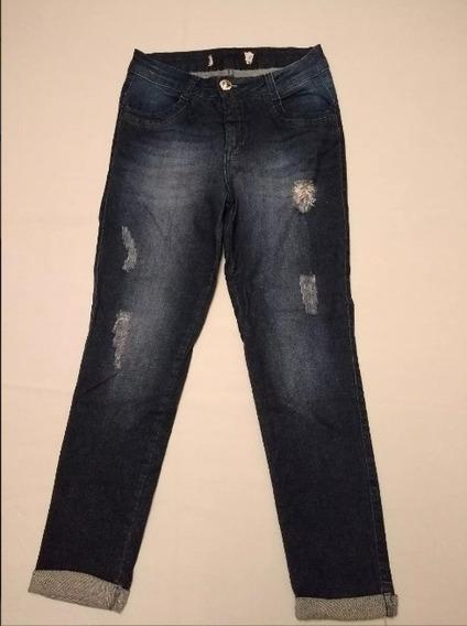 Calça Jeans Biotipo Etiqueta Cortada Div. Cores E Modelos!!