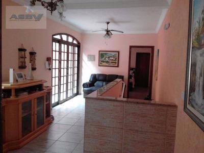Sobrado Residencial À Venda, Jardim Santo Alberto, Santo André. - Codigo: So0089 - So0089