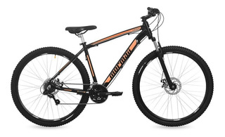 Bicicleta Venice Disk Brake Mormaii Aro 29 Pr Fosco/laranja