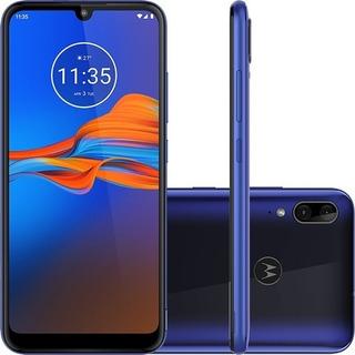 Celular Motorola E6 Plus 64gb 4gb Ram Vitrine = Igual À Novo