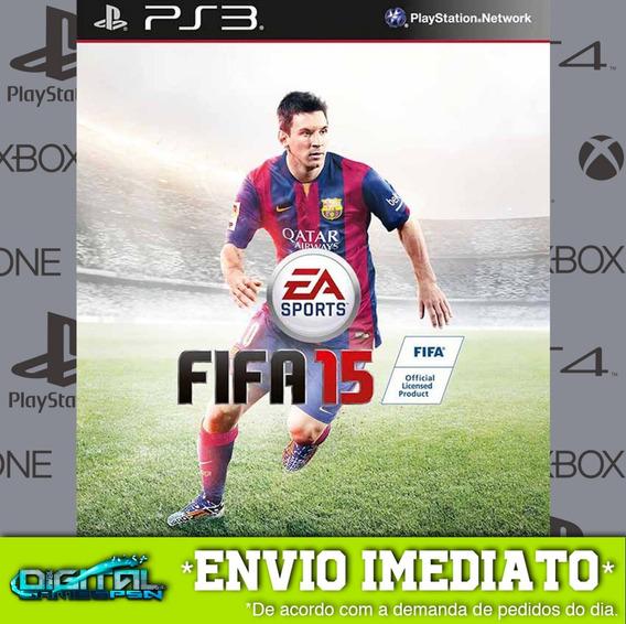 Fifa 15 Ps3 Psn Midia Digital Envio Hj!