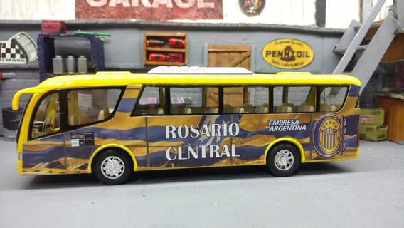 Micro Bus Colectivo Club Rosario Central 19 Cm. Metalico