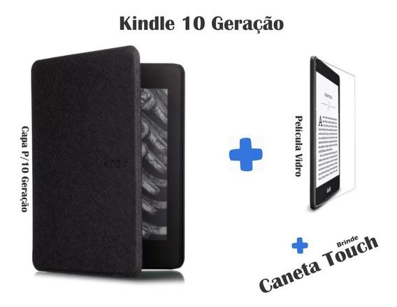Capa Para Kindle Paperwhite 10 Geracao + Pelicula + Brinde