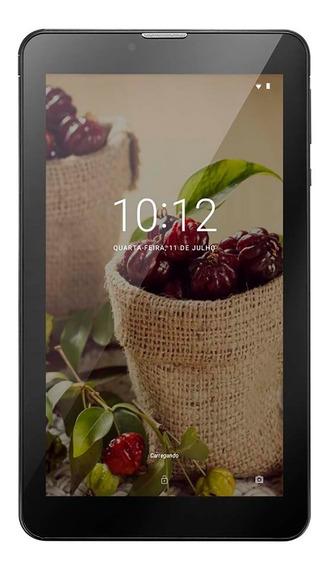 Tablet M7 3g Plus Sênior 1gb Ram Câmera 2.0 Mp+1.3 Mp 8gb