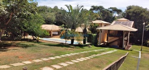 Casa De Campo Lagoa Santa / Jaboticatubas Ideal Para Descanso Ou Moradia A 60 Km De Belo Horizonte . - 5828