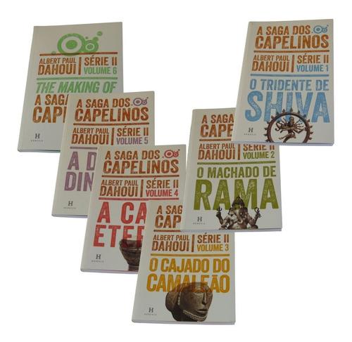 Coleção A Saga Dos Capelinos - Série Ii