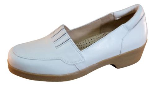 Imagen 1 de 3 de Zapato Elastizado De Dama, Enfermería, Plataforma De Goma