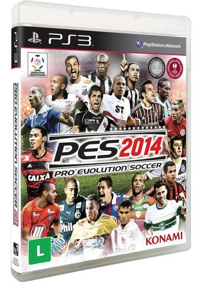 Jogo Pes 2014 (pro Evolution Soccer) - Ps3