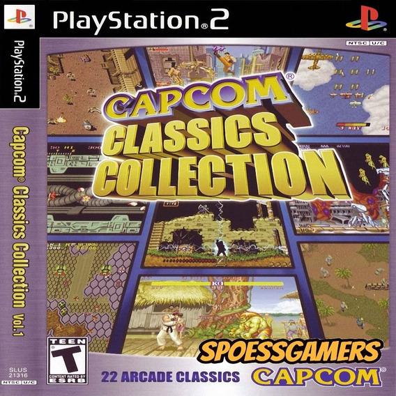 Capcom Classics Collection Vol. 1 Ps2 Patch Luta Me