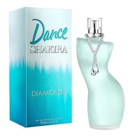 Perfume Shakira Dance Diamonds Feminino Eau De Toilette 80ml