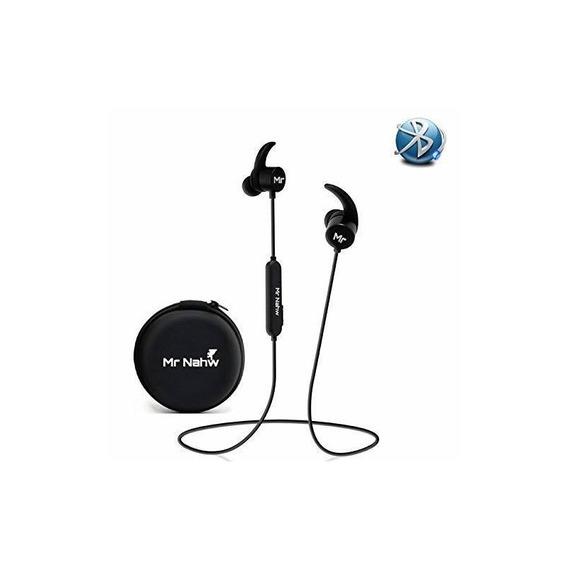 Bluetooth Headphones Mr Nahw 2018 Waterproof Ipx7, Wireles