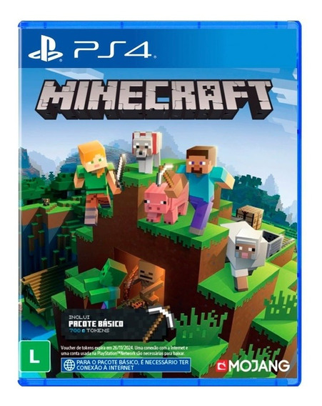 Minecraft Starter Collection Ps4 Midia Fisica + Nf