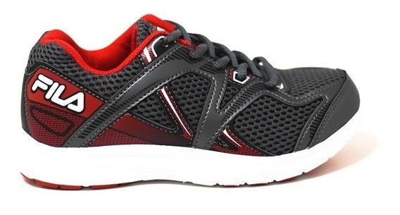 Fila Zapatillas Nenes Plasma Kids Footwear Grafito - Rojo