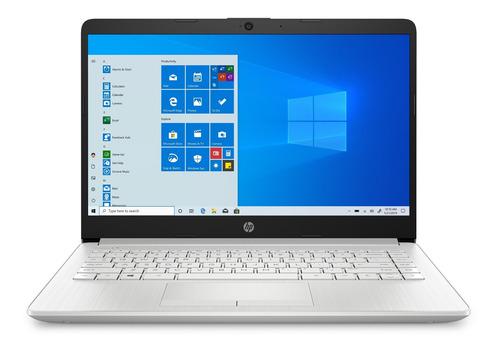 "Imagen 1 de 5 de Notebook HP 14-DK1022WM natural silver 14"", AMD Ryzen 3 3250U  4GB de RAM 128GB SSD, AMD Radeon Vega 3 1366x768px Windows 10 Home"