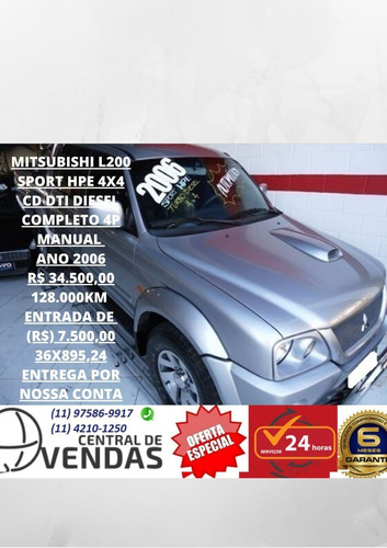 Mitsubishi L200 Sport 4x4 Ano 2006