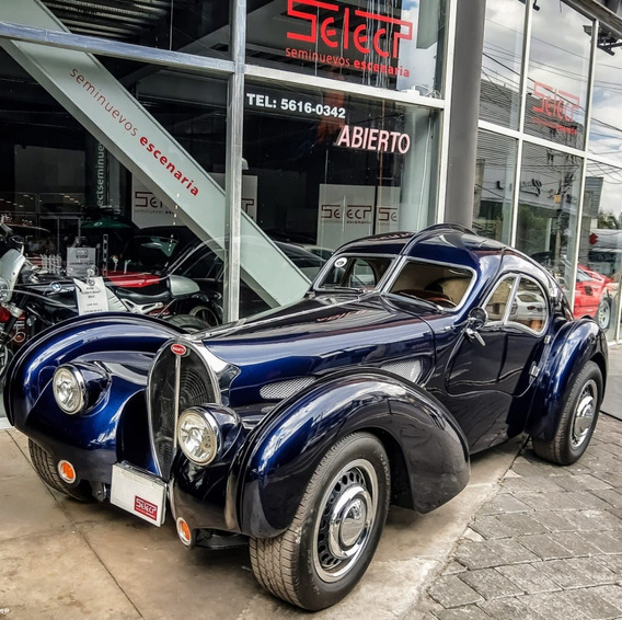 Coche Clásico Bugatti Atlantic Coupe Réplica, 1938
