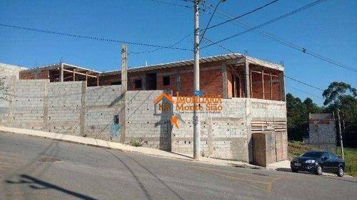 Imagem 1 de 10 de Sobrado Com 3 Dormitórios À Venda, 105 M² Por R$ 360.000,00 - São João - Guarulhos/sp - So0834