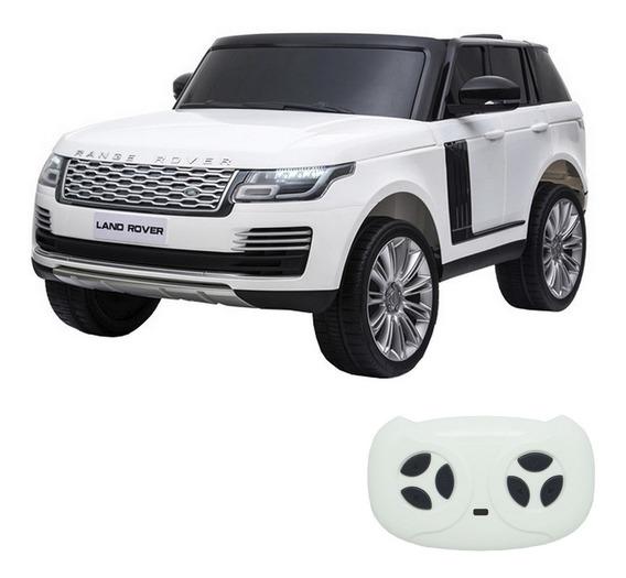 Mini Carro Infantil Elétrico Land Rover 2 Bancos Licenciado