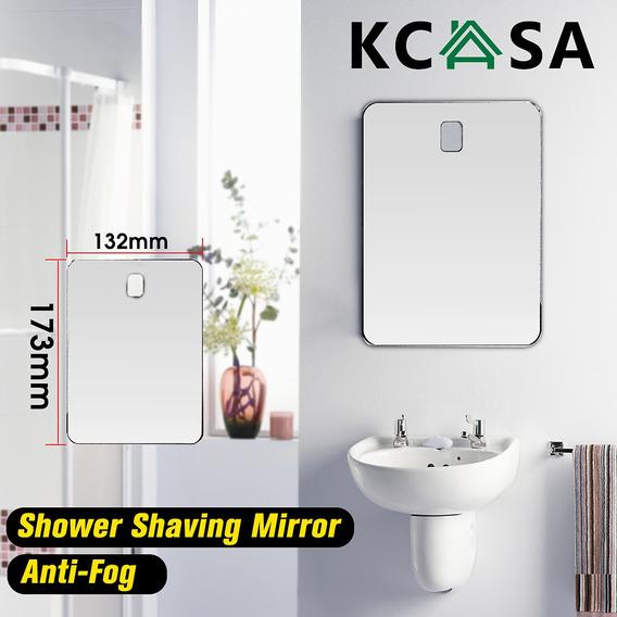 Espelho Chuveiro Banheiro De Kcasa Que Barbeia A Anti Nevoei