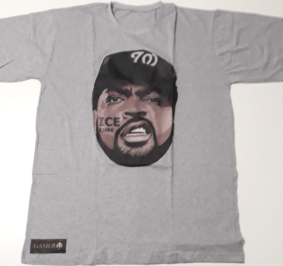Camisa Ice Cube Rapper Thuglife Rap Swag