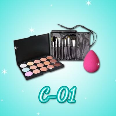 Kit Maquillajes Combo Personalizados Para Cursos Makeup