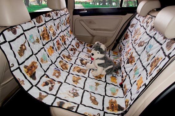 Protetor De Banco Traseiro Para Carro Pet Matelado Estampado