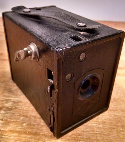 Câmera Fotográfica Agfa Box 44 (anos 30) Raridade
