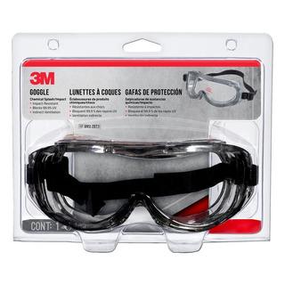 Goggles 3m Cod 91264 P/salpicaduras Y Protección De Químicos