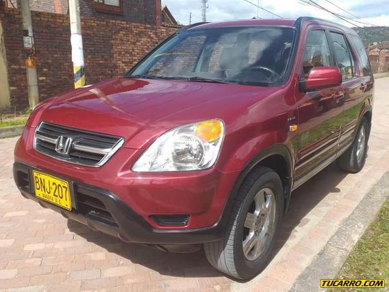 Honda Cr-v Ex Fe 2.4cc 4x4 At Aa