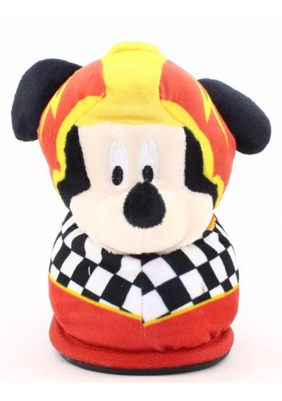 Pantufla Nene Mickey Puño Niño Comodas Invierno Nueva Nuevas