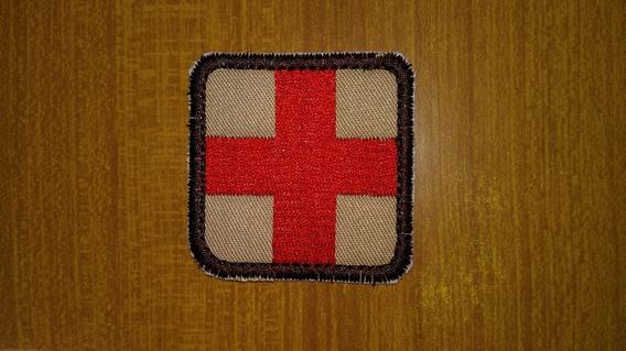 Cruz Roja 5x5 Parche Aplique Bordado Todos Los Colores
