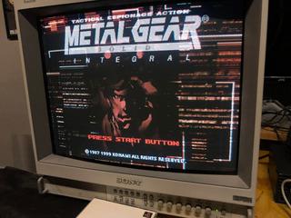Metal Gear Solid Integral Ps1 Japones Konami The Best