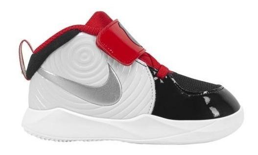 Tenis Infantiles Nike Hustle D 9 Auto Td 7001 Blanco Bebé