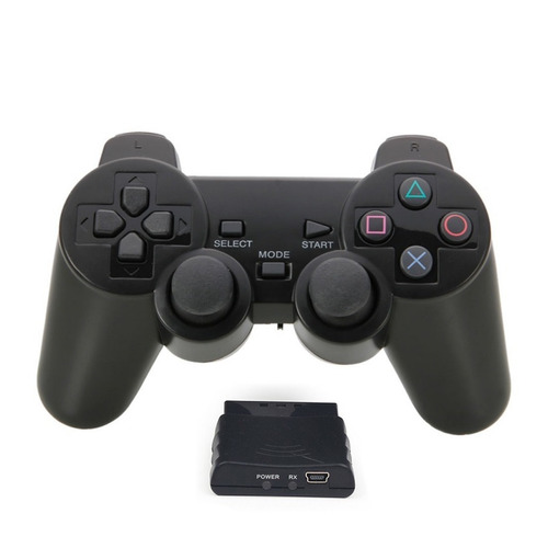 Joystick Mando Control Inalámbrico Con Vibración Ps2 Ps3 Pc