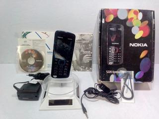 Nokia Xpressmusic 5220 Azul/negro ---envió Gratis---