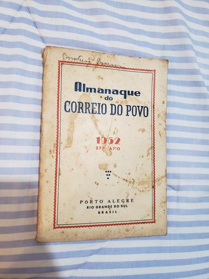 Revista Almanaque Do Correio Do Povo 1952